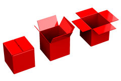 Shopping boxes Royalty Free Stock Photography