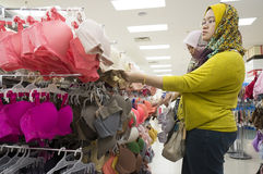 Shopping Bra Stock Image