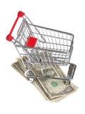 Shopping budget Stock Image