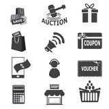 Shopping, business icon Stock Image