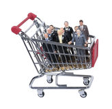 Shopping for Business Support Team Stock Photography