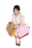 Shopping business woman Stock Photo