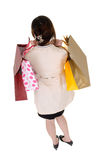 Shopping business woman Stock Images
