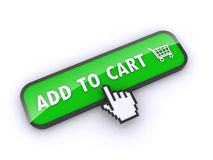 Shopping button Stock Photos