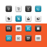 Shopping buttons Royalty Free Stock Photography
