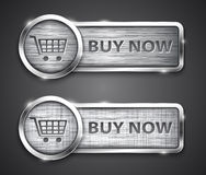 Shopping buttons Royalty Free Stock Photo