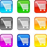 Shopping buttons. Royalty Free Stock Images