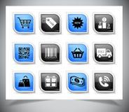 Shopping buttons Stock Photos