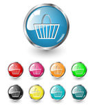 Shopping, buy icons. Stock Images