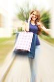 Shopping call Stock Photos