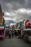 Shopping in camden town. In london Royalty Free Stock Image