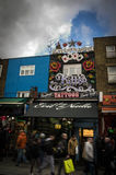 Shopping in camden town. In london Stock Image