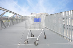 Shopping carriage Royalty Free Stock Images