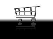 Free Shopping Cart Royalty Free Stock Photography - 10361687