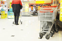 The shopping cart Royalty Free Stock Photography