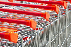 Shopping cart Royalty Free Stock Photo