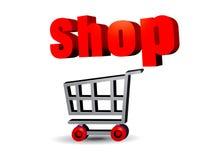 Free Shopping Cart Royalty Free Stock Photo - 16384755