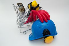 Shopping cart. Royalty Free Stock Photo