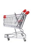 Shopping cart. (Isolated on white background Royalty Free Stock Images