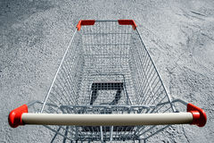 Shopping-cart Royalty Free Stock Photography
