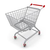 Shopping Cart. Computer generated image - Shopping Cart Royalty Free Stock Image