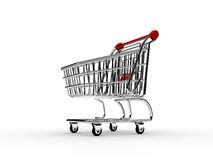 Shopping cart 2 Stock Image