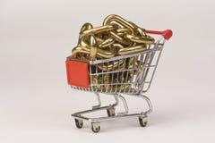 Shopping Cart. Royalty Free Stock Image