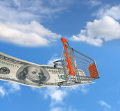 Shopping cart #3 Royalty Free Stock Photo