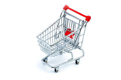 Shopping cart. Model - look in portfolio for more views royalty free stock photography