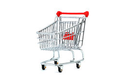Shopping cart. Model - look in portfolio for more views stock photo