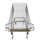 Shopping cart. 3d illustration of shopping cart stock illustration