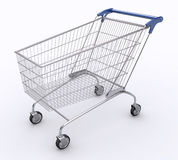 Shopping Cart (Angle 1) Stock Image