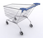 Shopping Cart (Angle 2) Stock Image