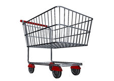 Shopping cart B Royalty Free Stock Images