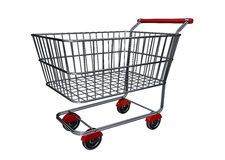 Shopping cart B Royalty Free Stock Photography