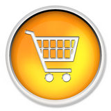 Shopping cart, button, icon, web icon, e-buy, web button