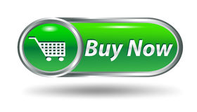 Shopping cart, buy icon button Royalty Free Stock Images