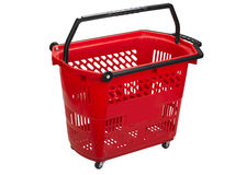 Shopping cart , clipping path Stock Photography