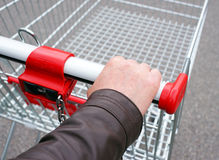Shopping cart concept Stock Image