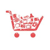 Shopping cart concepts Royalty Free Stock Images