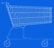 The shopping cart Royalty Free Stock Images
