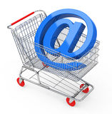 The shopping cart Stock Photography