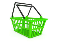 Shopping cart 3d Royalty Free Stock Photo