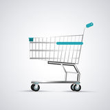 Shopping cart design. commerce and store icon, graphic vector Royalty Free Stock Photos