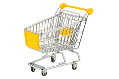 Shopping cart Stock Photography