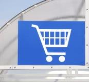 Shopping cart icon Stock Photo