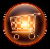 Shopping cart icon. Royalty Free Stock Image