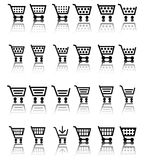 Shopping Cart Icon / Icons Stock Images