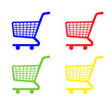 Shopping Cart Icons Stock Image