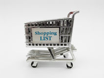 Shopping Cart II royalty free stock photography